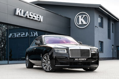 State-of-the-art armored cars: Rolls-Royce GHOST
