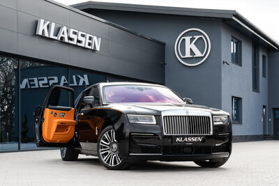 The latest top luxury armored vehicles based on an extended Rolls-Royce Ghost  Armored Rolls-Royce GHOST