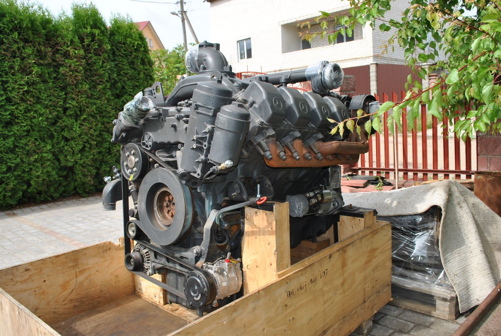 Elad mercedes benz om 502 la motorok claas jaguar komb jn 502 motoring