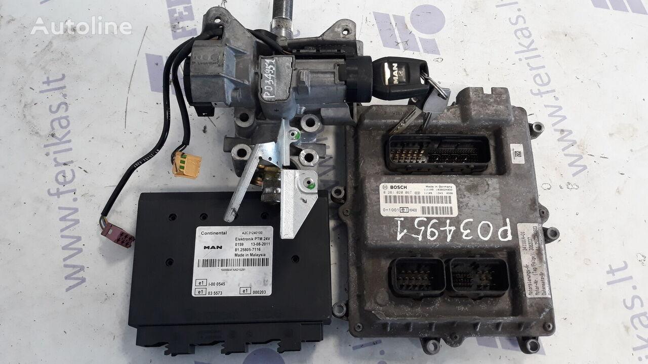 MAN D2676 EURO 5 ECU set vezérlőegység MAN TGX nyergesvontató-hoz