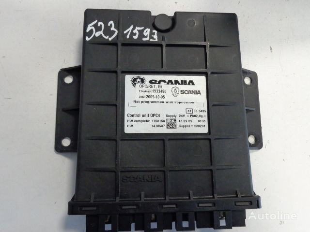 SCANIA OPC/RET OPC4 E5 vezérlőegység SCANIA R nyergesvontató-hoz