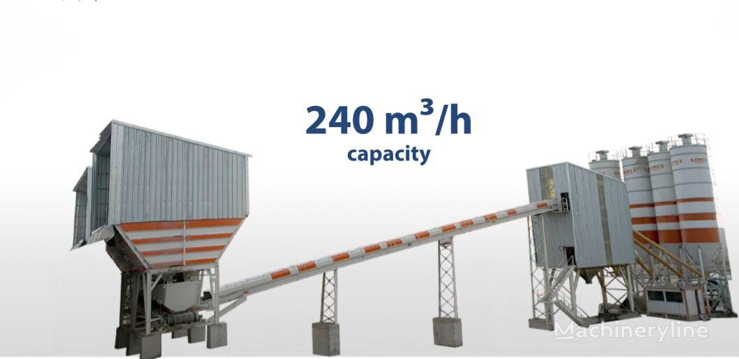 új SEMIX Stationary   betonüzem