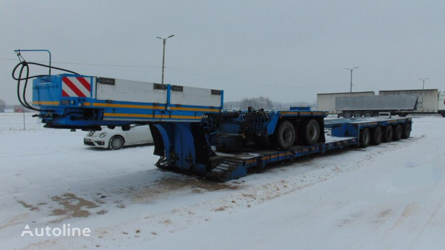 BROSHUIS NS-600 alacsony alvázkeretű félpótkocsi
