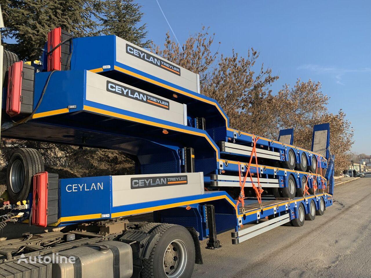 új CEYLAN 3 AXLES 2019 alacsony alvázkeretű félpótkocsi