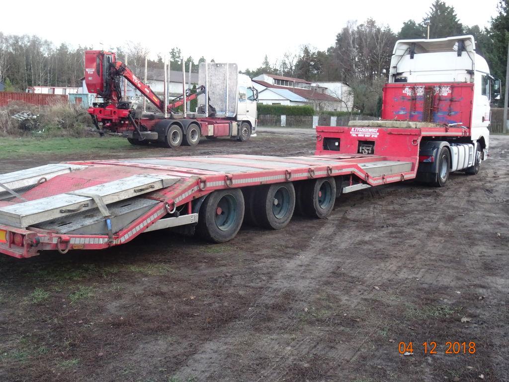 KRONE SDP24 alacsony alvázkeretű félpótkocsi