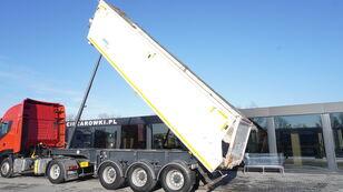 JANMIL NWD, HYVA hydraulic , 30m3 , load 29,300kg , lift axle billenős félpótkocsi