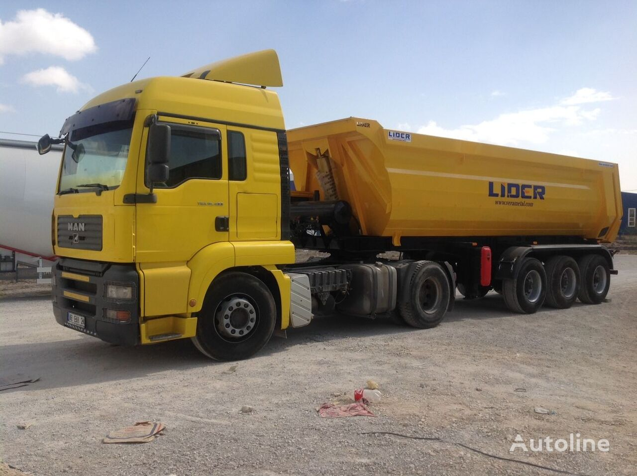 új LIDER 2019 NEW DIRECTLY FROM MANUFACTURER COMPANY AVAILABLE IN STOCK billenős félpótkocsi