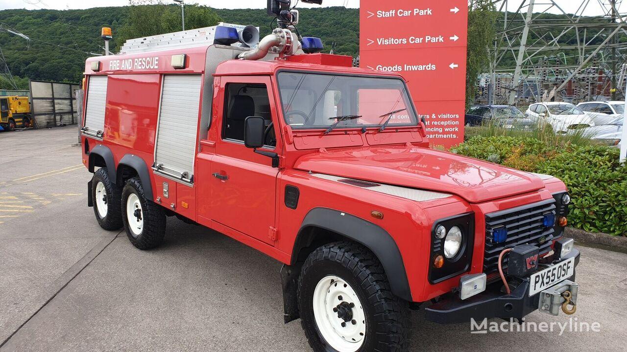 Land Rover 6x6 reptéri tűzoltóautó