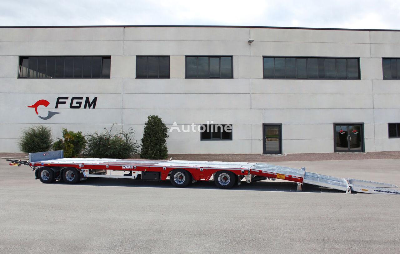 új FGM 44 alacsony alvázkeretű pótkocsi