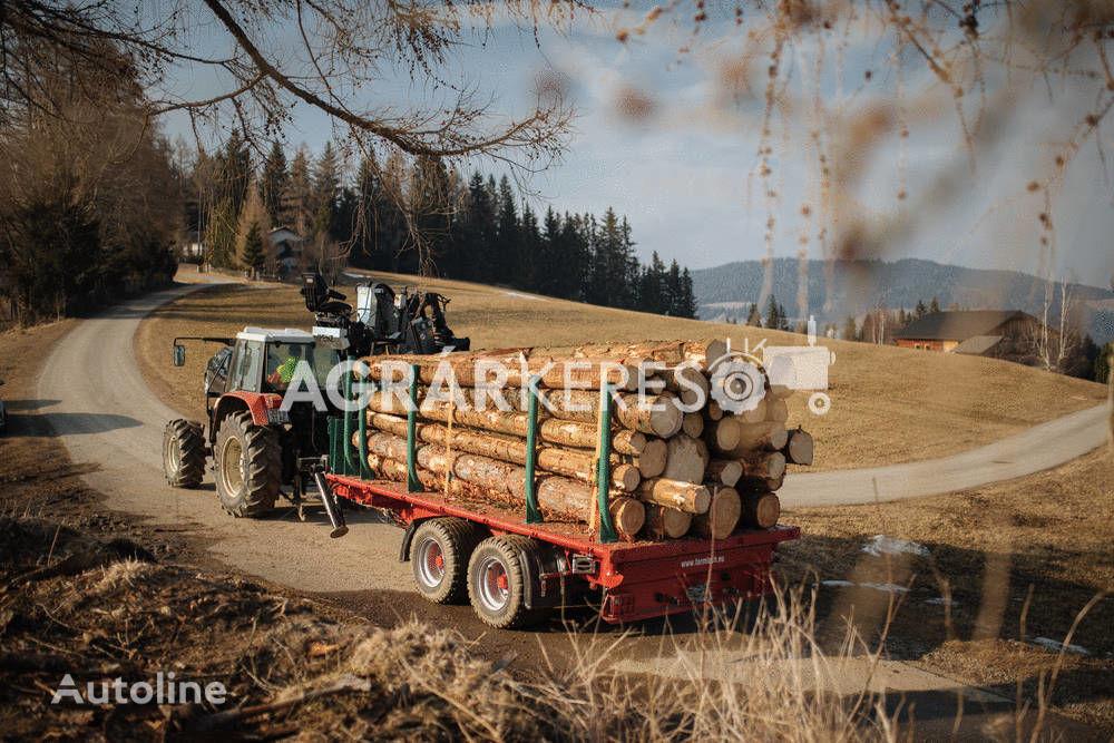FARMTECH TDK-1300 F  rönkszállító pótkocsi