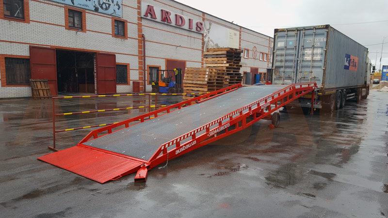 új AUSBAU Mobile loading ramp, verladerampe, rampa mobilna, nakládací ramp mobil rámpa