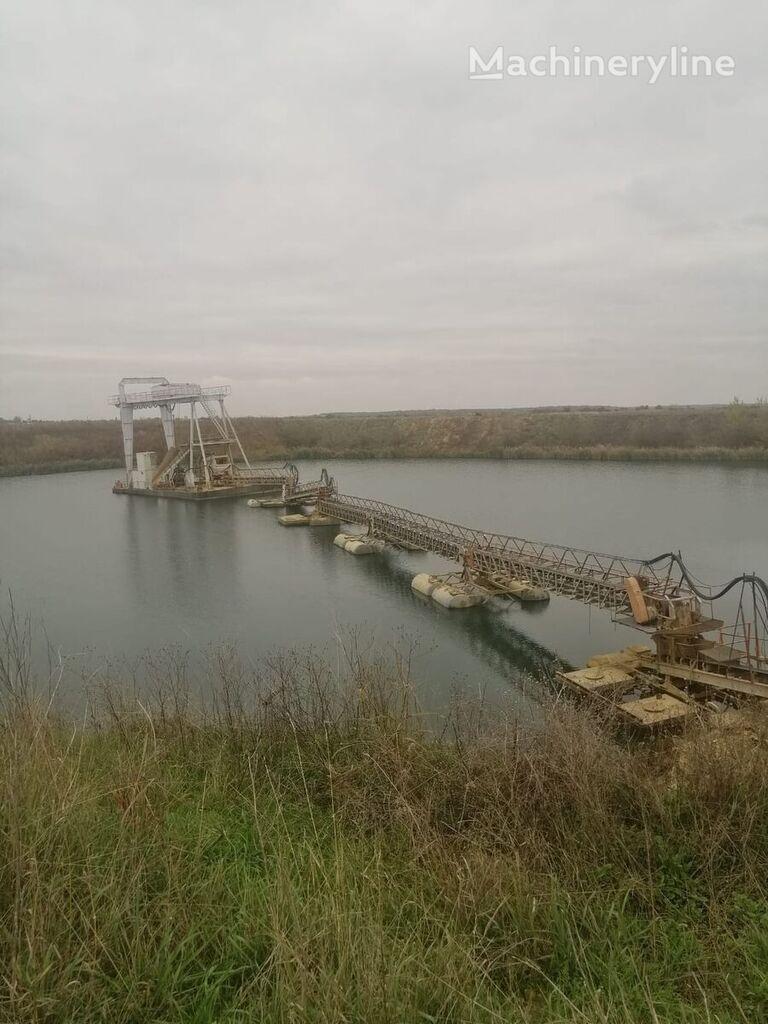 floating dredge plant -sistem dragare cu pod rulant rostakanál