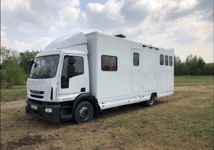 IVECO Eurocargo 120 E 22 Élőállat-szállító lakrésszel állatszállító teherautó