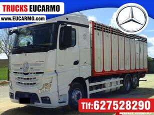 MERCEDES-BENZ ACTROS 25 45 állatszállító teherautó