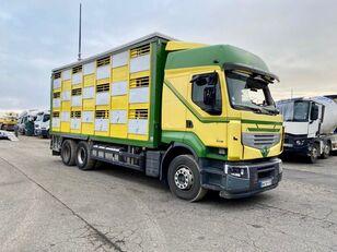 sérült RENAULT PREMIUM 460  állatszállító teherautó