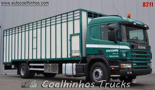 SCANIA 124G 420 állatszállító teherautó