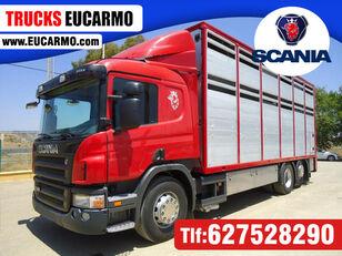 SCANIA P 380 állatszállító teherautó
