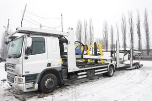 DAF CF 75 360 , E5 , 4x2 ,MEGA , LOHR , retarder , sleep cab  autószállító teherautó + autószállító pótkocsi