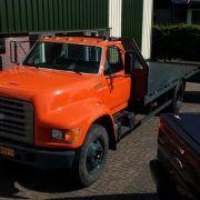 FORD F800 autószállító teherautó