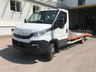 IVECO Daily 50 C 18 Járműszállító Csörlővel és Rámpával autószállító teherautó