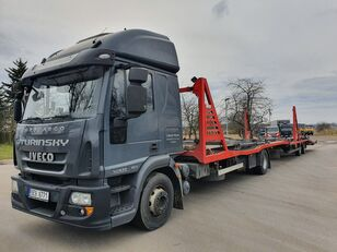IVECO Eurocargo 140E28 autószállító teherautó + autószállító pótkocsi