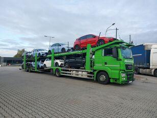 MAN TGS autószállító teherautó
