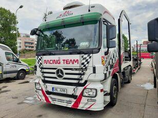 MERCEDES-BENZ Actros + Lohr + návěs na přepravu automobilů autószállító teherautó
