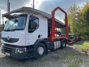 RENAULT Premium 460 EEV autószállító teherautó + autószállító pótkocsi