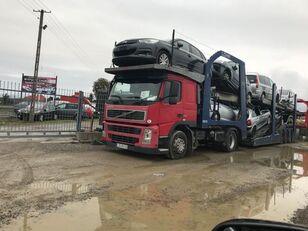 VOLVO FM 440 autószállító teherautó + autószállító pótkocsi