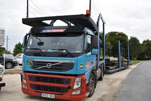 VOLVO FM 460 + LOHR 1.22 autószállító teherautó + autószállító pótkocsi