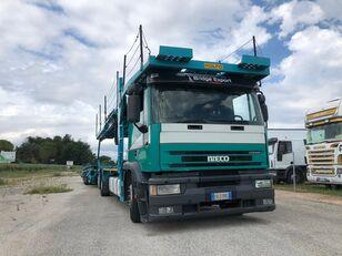 IVECO EUROTECH bisarca veicoli + biga Rolfo autószállító teherautó