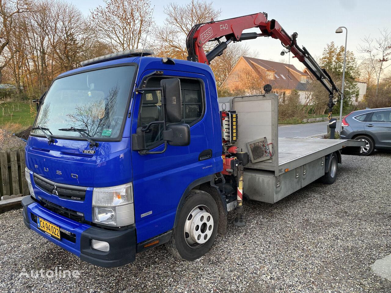 Mitsubishi Fuso Canter autószállító teherautó