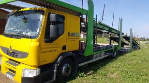 RENAULT Premium 370.18 Euro5 !!! autószállító teherautó + autószállító pótkocsi