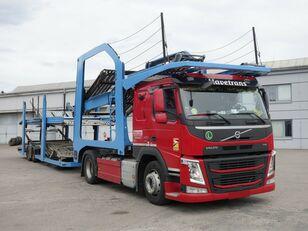 VOLVO FM13 460 Járműszállító csörlővel  autószállító teherautó