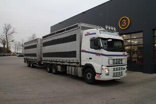 VOLVO FH12.480 6x4 baromfi szállító + dobozos pótkocsi
