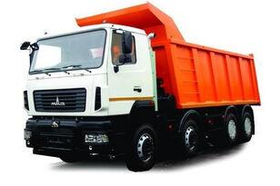 új MAZ 6516E8 billenős teherautó