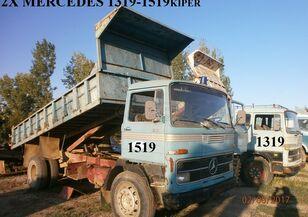 MERCEDES-BENZ 1519 360 ΟΛΑ ΤΑ ΑΝΤΑΛΑΚΤΙΚΑ '75 billenős teherautó