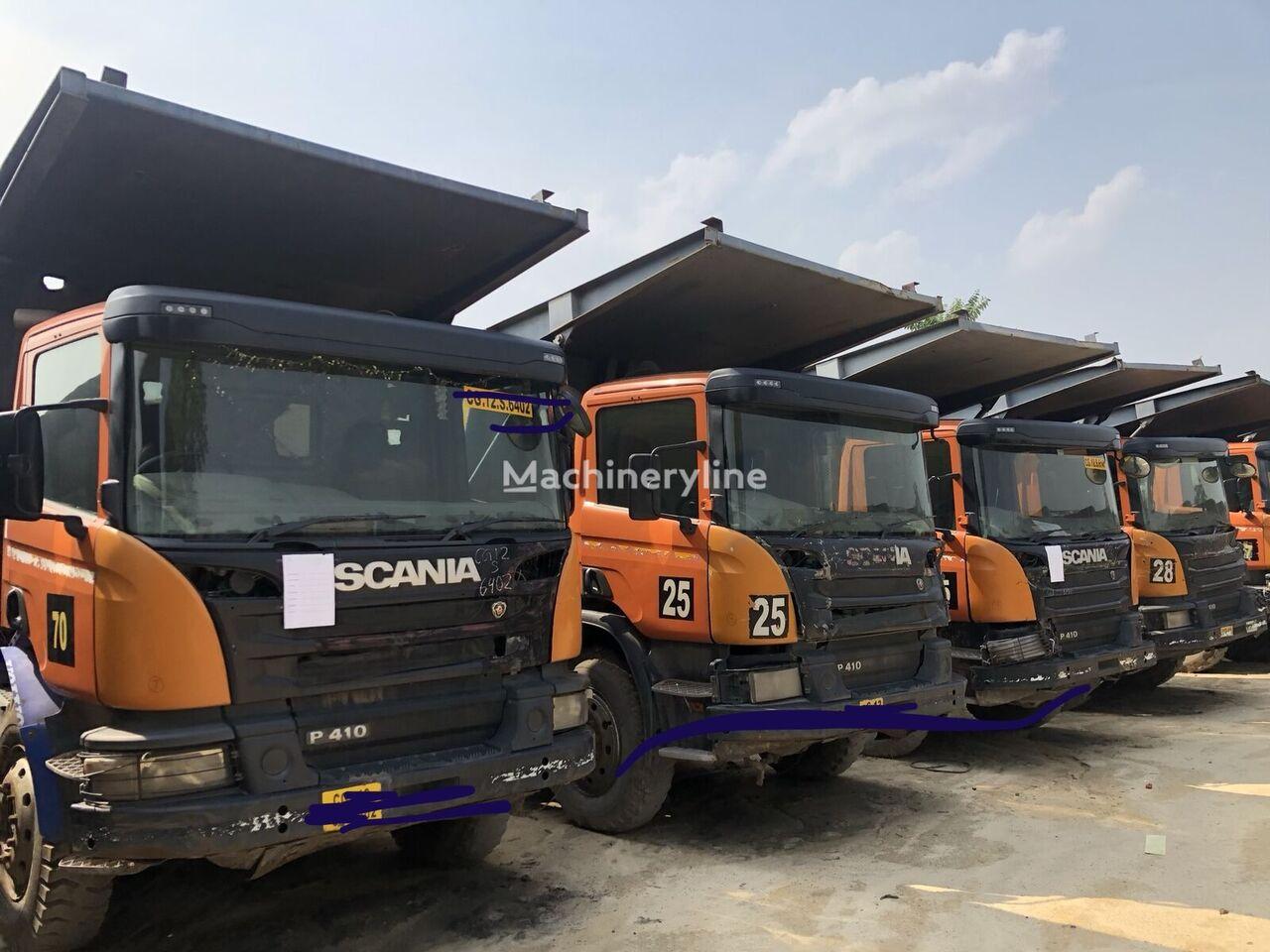 SCANIA P410 billenős teherautó