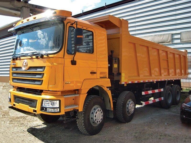 új SHACMAN SHAANXI F3000 8x4 billenős teherautó