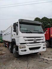 HOWO 336 HP 8x4 Drive Stake Body General Cargo Truck dobozos teherautó