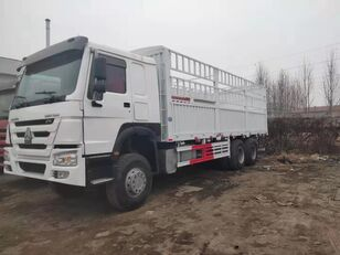 HOWO Cargo truck dobozos teherautó