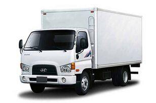 új HYUNDAI HD78 промтоварный фургон dobozos teherautó
