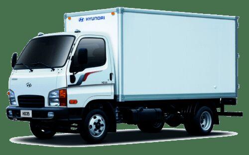 új HYUNDAI HD 35 dobozos teherautó