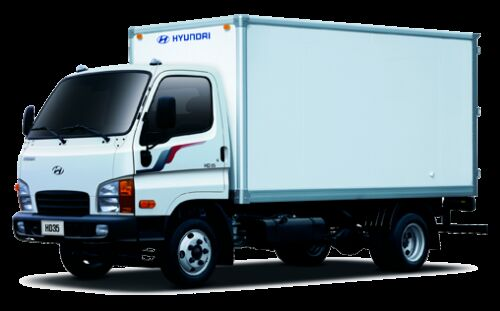 új HYUNDAI HD35 dobozos teherautó