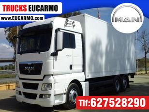 MAN TGX 26 440 dobozos teherautó