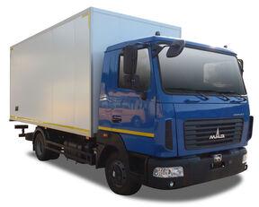 új MAZ dobozos teherautó
