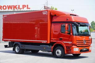 MERCEDES-BENZ Atego 1224, E6, 4x2, 6.10m container, GLOB cabin, retarder dobozos teherautó