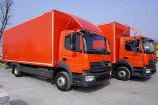 MERCEDES-BENZ Atego 1224, E6, 4x2, 7.10 m container, retarder, 3-person cabin, dobozos teherautó