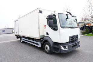 RENAULT D12 , E6 , 4x2 , Box 18 EPAL side door  , tail lift Dhollandia , dobozos teherautó