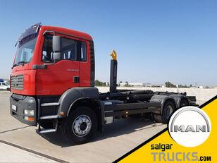 MAN TGA 26.430- emelőhorgos teherautó
